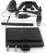 XK X251 Drone Parts-35 Aerial image transmission Display screen & 720P HD Camera & Reader