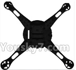 XK X260 Spare parts-01-03 X260-01 Bottom body shell coverX260-03