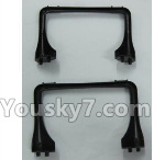 XK X260 Spare parts-04 X260-04 Land skid,tripod(2pcs)