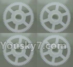 XK X260 Spare parts-08-02 X260-08 Main gear(4pcs)