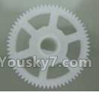 XK X260 Spare parts-08-03 X260-08 Main gear(1pcs)
