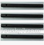 XK X260 Spare parts-10-02 X260-10 Carbon rod for the Main gear(4pcs)-3.98x41