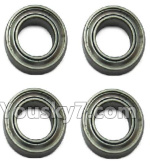 XK X260 Spare parts-12-02 X260-12 Bearing(4pcs)