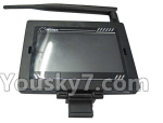 XK X260 Spare parts-25-04 FPV Display with Antena