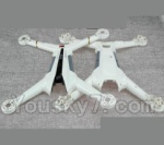 XK X300 Spare parts-01-01 Upper and Bottom Shell body cover