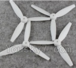 XK X300 Spare parts-04-01 Propellers,Rotor blades(4pcs-2X CW and 2X CCW)