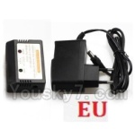 XK X300 Spare parts-17-06 Charger and Balance charger(With EU Version Plug)