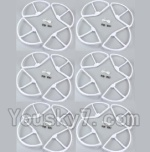 XK X350-Parts-09 Outer protect frame(16pcs)-White