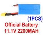 XK X350-Parts-12 Official 11.1V 2200MAH BATTERY FOR XK X350,Wltoys V303 V393 Battery(1pcs)