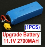 XK X350-Parts-13 Upgrade 11.1V 2700MAH BATTERY For XK X350,Wltoys V303 V393 Battery(1pcs)
