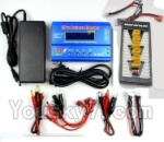 XK X350-Parts-17 Upgrade Charger unit,Can charger 6x battery at the same time(Power & B6 Charger & 1-To-6 Parallel charging Board)