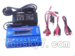XK X350-Parts-18 Upgrade B6 Balance charger and Power Charger unit(Can charger 2S 7.4v or 3S 11.1V Battery)