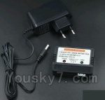 XK X350-Parts-22 Upgrade Charger and balance charger Set-Can charge one battery at the same time