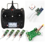 XK X350-Parts-23 Transmitter & Power Board & Flight control board & ESC(4pcs)