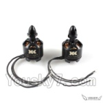 XK X350-Parts-32 2212 1400KV Brushless CCW Motor(With Black Head)-2pcs