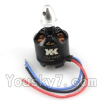 XK X350-Parts-35 2212 1400KV Brushless CW Motor(With Silver Head)-1pcs