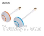 XK X350-Parts-41 Mushroom antenna,Four Leaf antenna(Transmitting and receiving)-Total 2pcs-inner hole Version