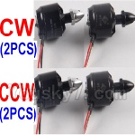 Wltoys XK Detect X380 Parts-16 2212 KV 950 Reversing-rotating Brushless Motor(CCW)-2pcs & 2212 KV 950 Rotating Brushless Motor(CW)-2pcs
