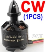 Wltoys XK Detect X380 Parts-18 2212 KV 950 Rotating Brushless Motor(CW)-1pcs