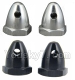 Wltoys XK Detect X380 Parts-20 bullet screw nut(4pcs-2X Black,2X Silver)