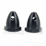 Wltoys XK Detect X380 Parts-22 bullet screw nut(2pcs-2X Black)