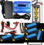 Wltoys XK Detect X380 Parts-28 6pcs 2700mah battery & Upgrade Charger unit,Can charger 6x battery at the same time(Power & B6 Charger & 1-To-6 Parallel charging Board)