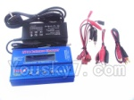 Wltoys XK Detect X380 Parts-30 Upgrade B6 Balance charger and Power Charger unit(Can charger 2S 7.4v or 3S 11.1V Battery)