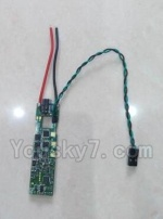 Wltoys XK Detect X380 Parts-40 ESC Board(With Green Light)