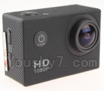 Wltoys XK Detect X380 Parts-46 Duplicate Gopro 12,000,000 Pixels 1080P HD Camera-(Size-59X25X41 MM)