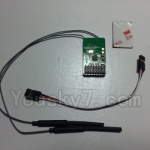 XK Aircam X500 Quadcopter Parts-027 Receiver board group,Circuit board group