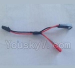 XK Aircam X500 Quadcopter Parts-034 Power adapter cable