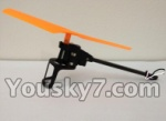XinXun X39 X39V parts-19 Reversing-Rotating Motor Assembly-Orange rotor & the motor wire is White and Black