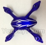 XinXun-X40-X40V parts-02 Upper and lower body cover-Blue