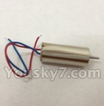 XinXun-X40-X40V parts-09 rotating Motor with red and blue wire(1pcs)