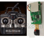 XinXun-X40-X40V parts-11 X40V Transmitter (With Camera button)& X40V Receiver board,Circuit board