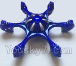 XinXun X52 x52V Parts-04 Upper and Bottom shell cover,Canopy(1PCS Blue)