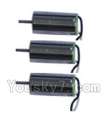 XinXun X52 x52V Parts-22 Reversing-rotating Motor with White and black wire(3pcs)