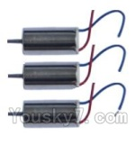 XinXun X52 x52V Parts-23 rotating Motor with red and blue wire(3pcs)