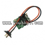 YD-611-parts-41-Receiver board-27HZ