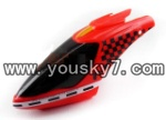 YD-618-parts-01 head cover(Red)