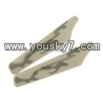 YD-918-helicopter-parts-03 Upper Main Blades(Green-2pcs)