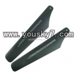 YD-918-helicopter-parts-07 Upper Main Rotor Blades(2pcs)