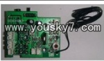 YD-918-helicopter-parts-20 Receiver board,PCB board