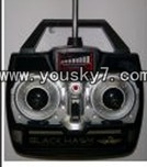 YD-918-helicopter-parts-35 Remote control(without Antenna)