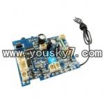YD-919-parts-17 PCB Board,Receiver board(27MHZ)