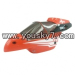 YD-9801-parts-01 Head cover (red)