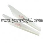 YD-9801-parts-03 Upper main blades(2pcs)