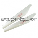 YD-9802-parts-04 Lower main blades(2pcs)