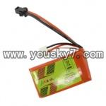 YD-9802-parts-21 7.4V, 800 mAh Lipo Battery