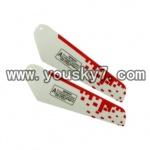 YD-9805-parts-04 Lower main blades(2pcs)